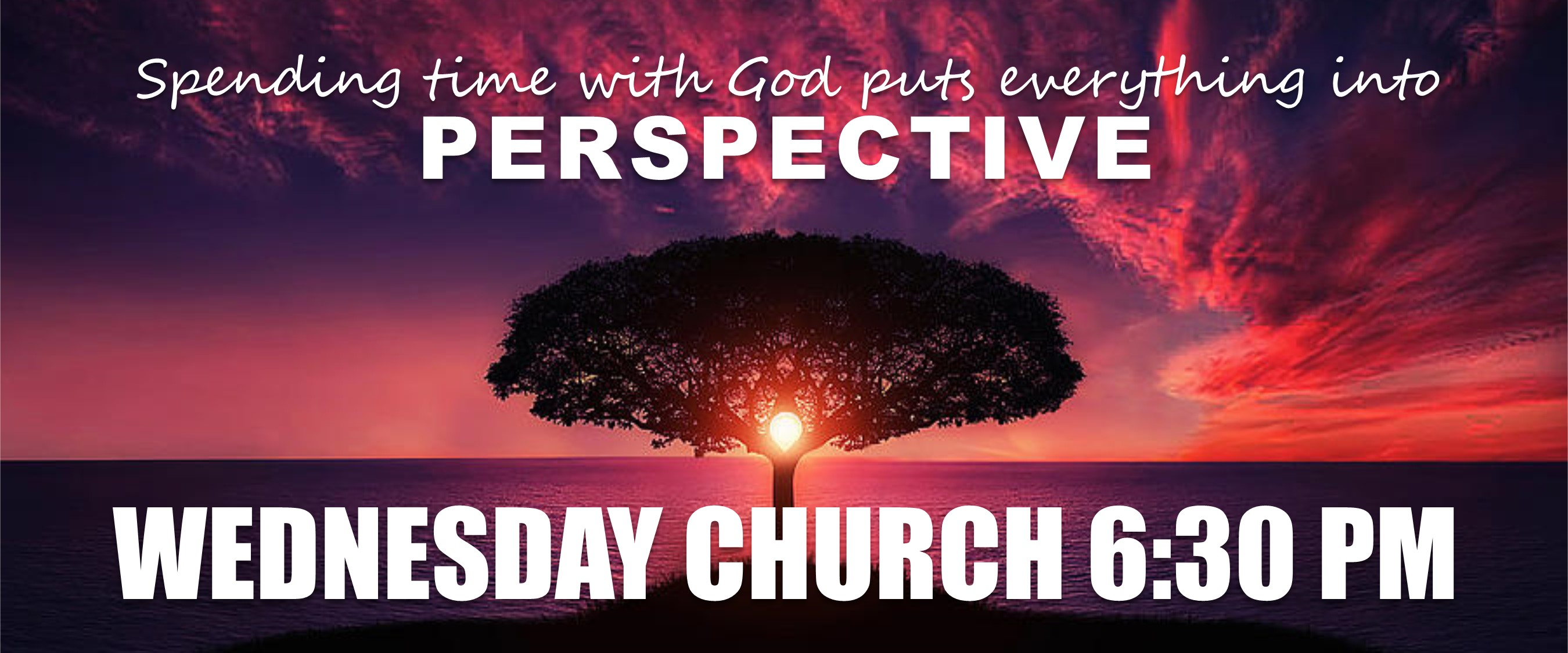 Wednesday Church Perspective